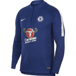 Sweat zippé Chelsea bleu 2018/19