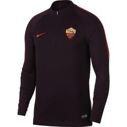 Sweat zippé AS Roma rouge 2018/19