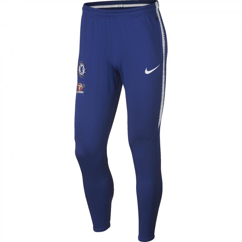 Pantalon survêtement Chelsea bleu 2018/19