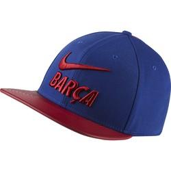 Casquette visière plate FC Barcelone bleu rouge 2018/19