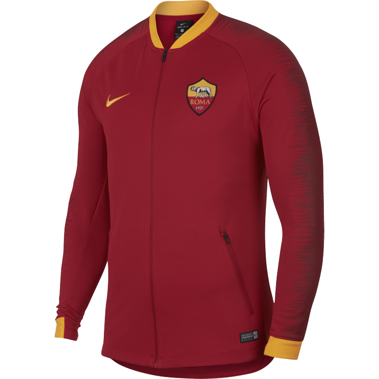 Veste survêtement AS Roma rouge 2018/19