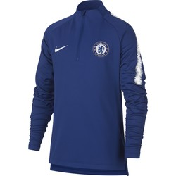 Sweat zippé junior Chelsea bleu 2018/19
