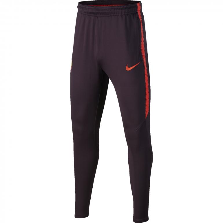 Pantalon survêtement junior AS Roma rouge 2018/19