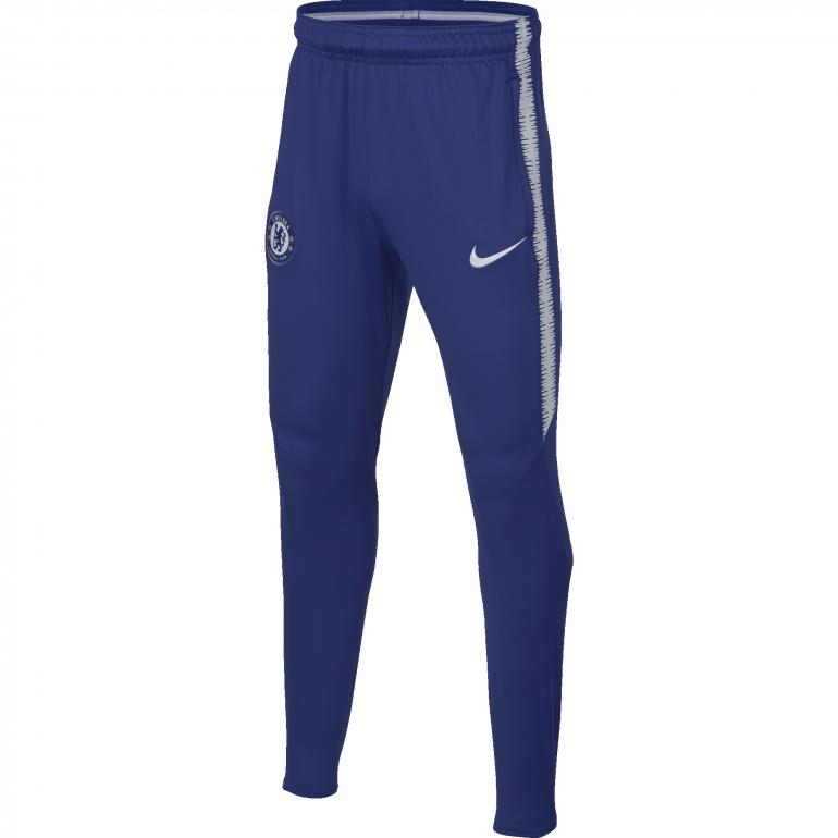 Pantalon survêtement junior Chelsea bleu 2018/19