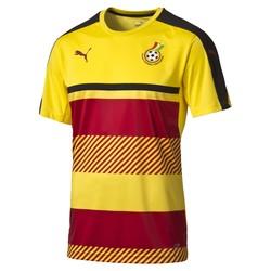 Maillot entraînement Ghana jaune et rouge CAN 2017