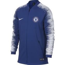 Veste survêtement junior Chelsea bleu 2018/19