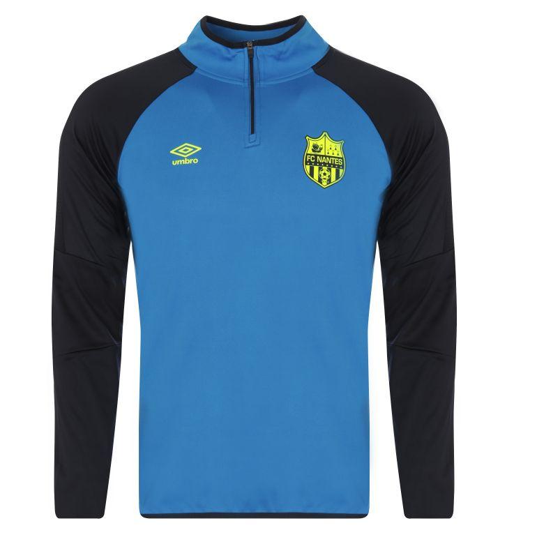 Sweat zippé FC Nantes bleu 2017/18