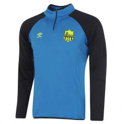 Sweat zippé junior FC Nantes bleu 2017/18