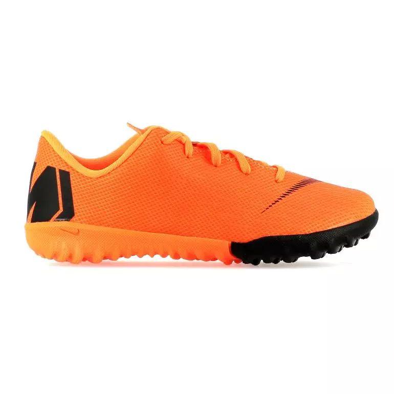 Mercurial VaporX XII enfant Academy Turf orange