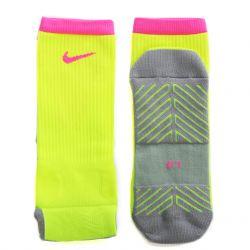 Chaussettes Nike Squad Crew jaune rose 2016/17