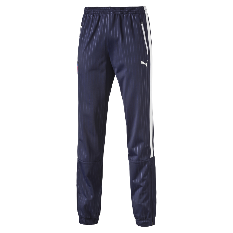 Pantalon survêtement Italie bleu fines rayures 2016