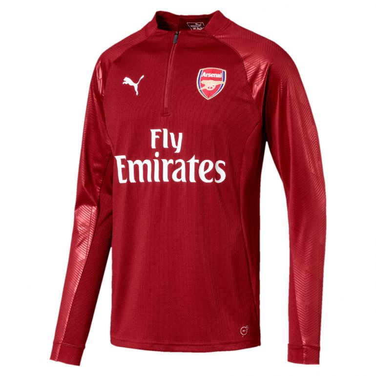 Sweat zippé Arsenal Stadium rouge 2017/18