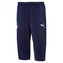 Pantalon survêtement 3/4 junior Italie bleu 2018