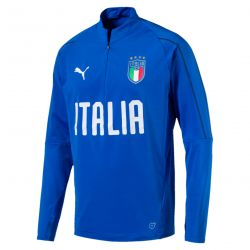 FIGC 1/4 ZIP TRAINI.TEAM P M