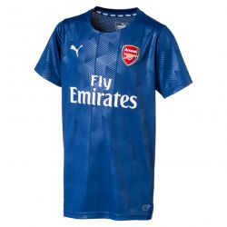 Maillot entraînement junior Arsenal Stadium bleu 2017/18