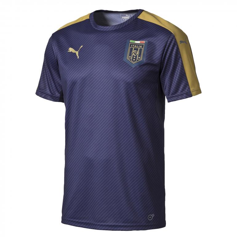 Maillot avant-match Italie bleu 2016