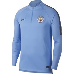 Sweat zippé Manchester City bleu 2018/19