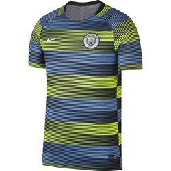 Maillot entraînement Manchester City bleu jaune 2018/19