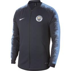 Veste survêtement Manchester City bleu foncé 2018/19