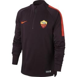 Sweat zippé junior AS Roma rouge 2018/19