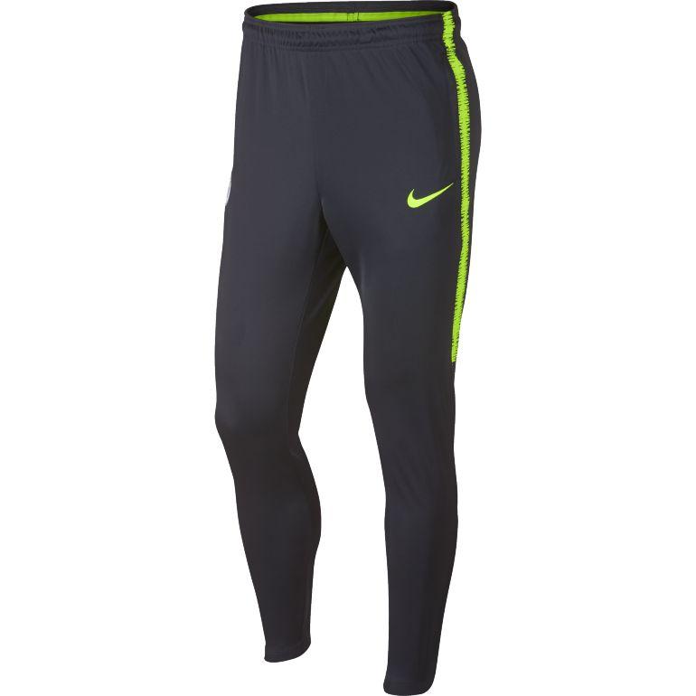 Pantalon survêtement Manchester City bleu jaune 2018/19