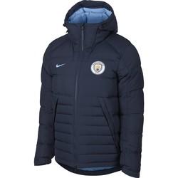 Doudoune Manchester City bleu foncé 2018/19