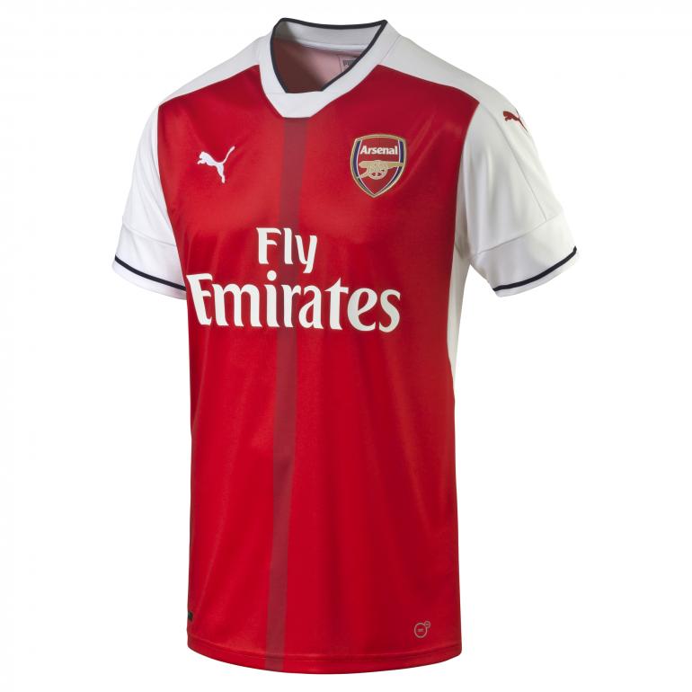 Maillot Arsenal domicile 2016 - 2017