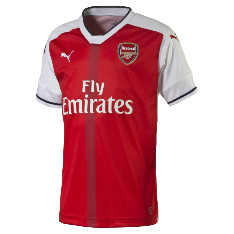 Maillot junior Arsenal domicile 2016 - 2017
