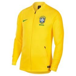 Veste survêtement Brésil jaune 2018