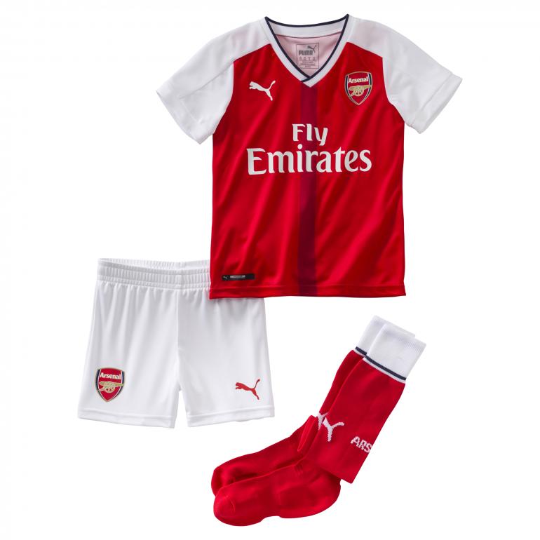 Tenue enfant Arsenal domicile 2016 - 2017