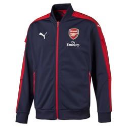 Veste survêtement Arsenal bleue et rouge 2016 - 2017