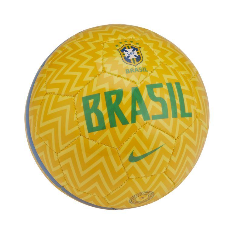 Mini Ballon Brésil jaune 2018