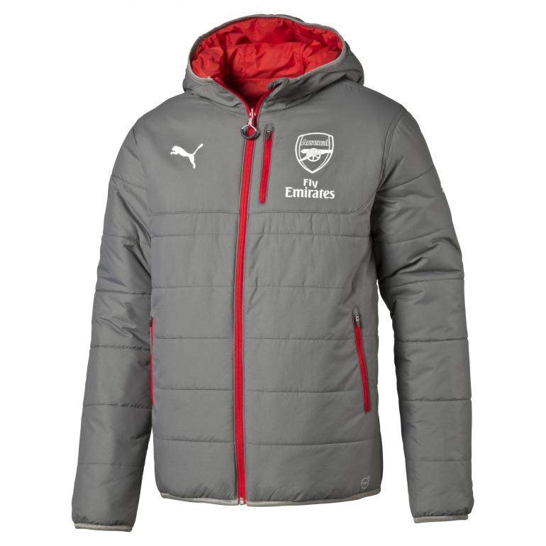 Veste réversible Arsenal gris 2017/18