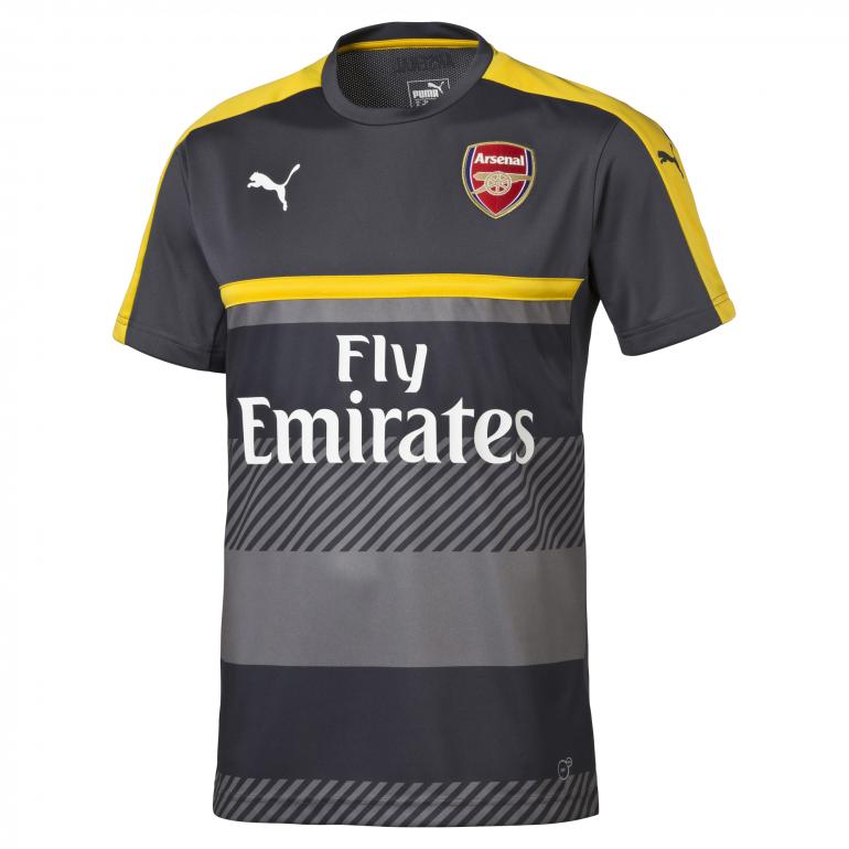 Maillot entraînement Arsenal gris 2016 - 2017