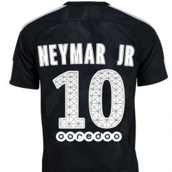 Maillot junior Neymar PSG third 2017/18