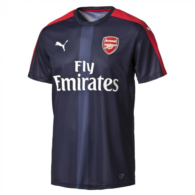 Maillot avant-match Arsenal domicile 2016 - 2017
