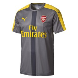 Maillot avant-match Arsenal gris 2016 - 2017