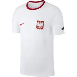 T-shirt Pologne blanc 2018