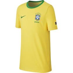 T-shirt junior Brésil jaune 2018