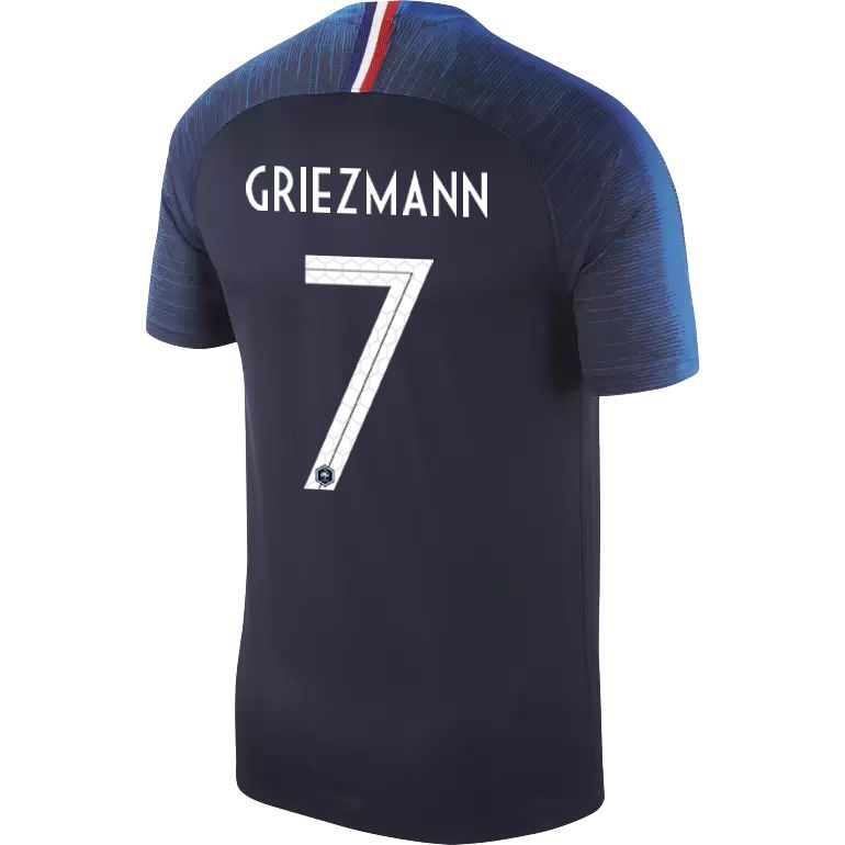 maillot griezmann equipe de france domicile 2018 sur. Black Bedroom Furniture Sets. Home Design Ideas