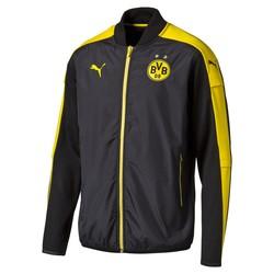 Veste survêtement Dortmund noire et jaune 2016 - 2017