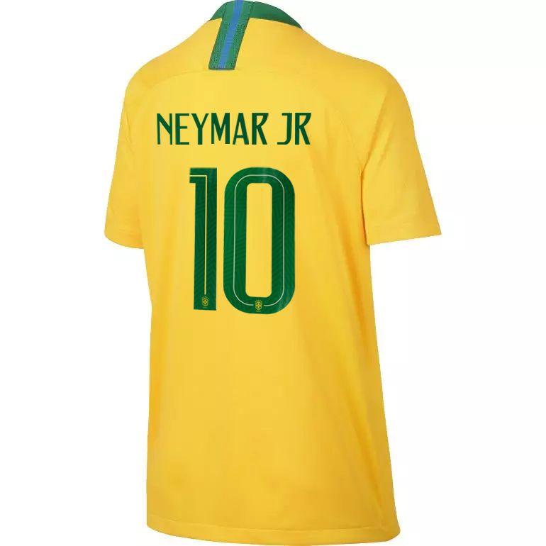 Maillot junior Neymar Brésil domicile 2018