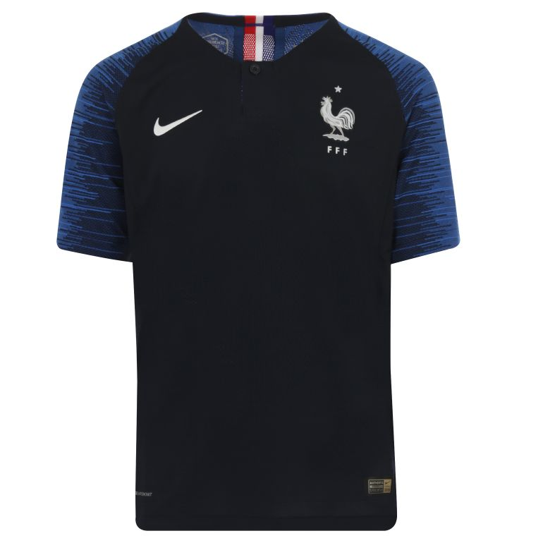 Maillot junior Equipe de France domicile Authentique 2018