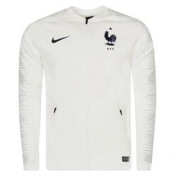 Veste survêtement Equipe de France blanc 2018