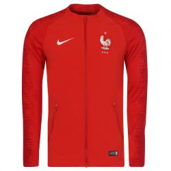Veste survêtement Equipe de France Strike rouge 2018