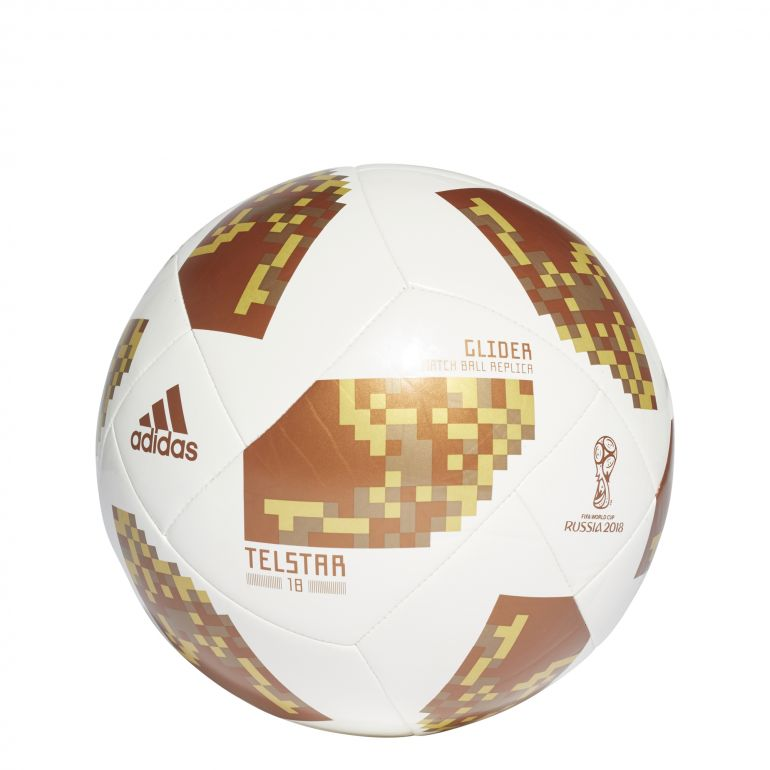 Ballon Coupe du Monde blanc marron 2018