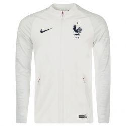Veste survêtement Equipe de France Strike blanc 2018