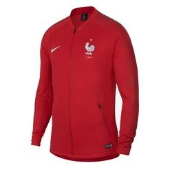 Veste survêtement Equipe de France rouge 2018