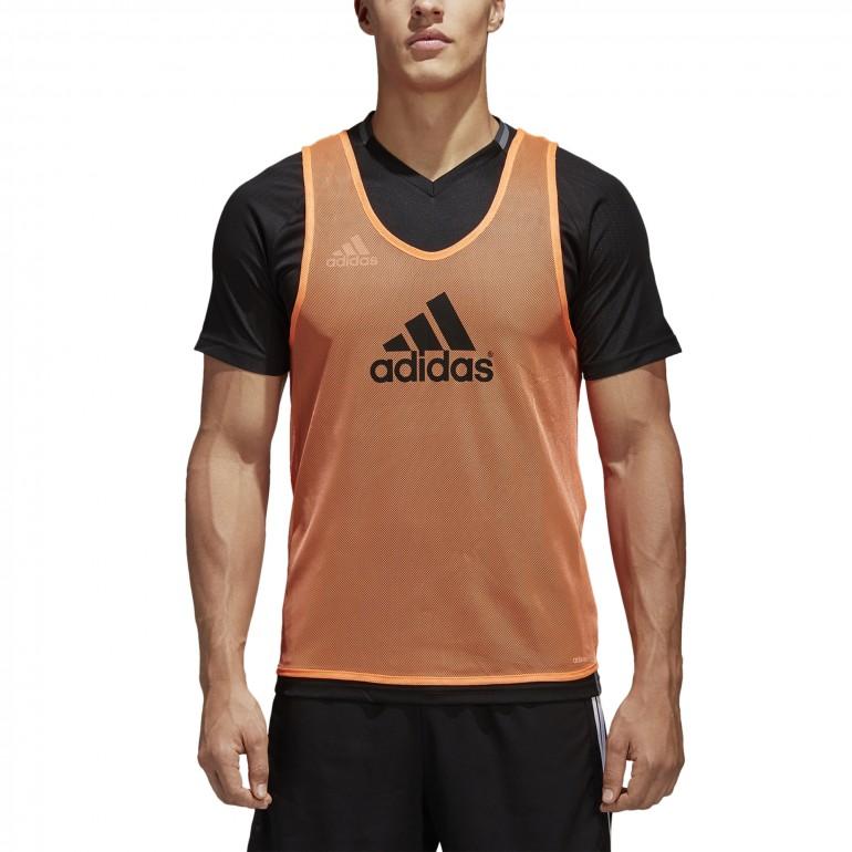 Maillot entrainement sans manches Adidas orange 2018/19