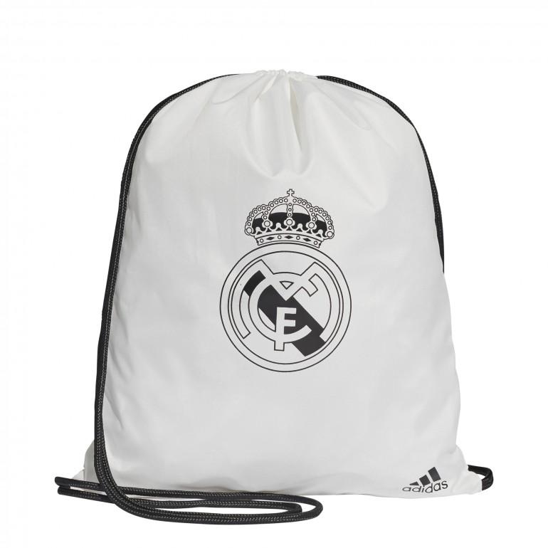 Sac gym Real Madrid blanc 2018/19